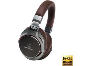 Audio-Technica  Gunmetal  ATHCMSR7GM  3.5mm  Connector SonicPro Over-Ear High-Resolution Audio Headphones
