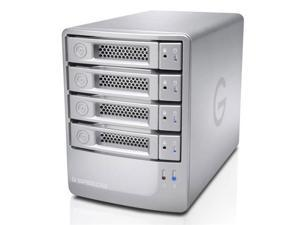 G-Technology G-SPEED Q 24TB USB 3.0 / 2 x Firewire800 / eSATA Desktop External Hard Drive 0G03971 Silver