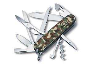 Victorinox Swiss Army 91mm #47;3.58in Huntsman Pocket Knife, Camouflage  #35;56500