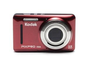 Kodak PixPro Friendly Zoom FZ53 Digital Camera, Red #FZ53-RD