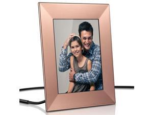 "Nixplay Iris 8"" Wi-Fi Cloud Frame (W08E - Peach Copper)"