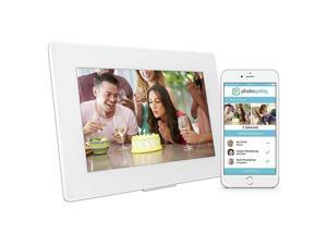 "Photospring 10"" 32GB Wi-Fi Digital Photo Frame with Touchscreen and Battery"