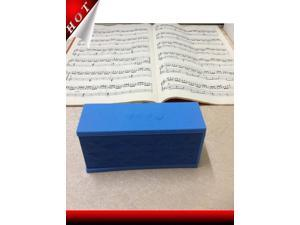 New arrive 2014 Water cube bluetooth speakers Card mini audio portable blue black red white