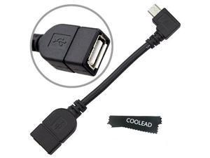 COOLEAD-USB Host Mode On The Go OTG Cable for Google Nexus 7 2 II Nexus 10 5, Motorola Moto G Phone Xoom, Samsung Galaxy ...
