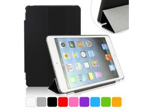 BESDATA Black Ultra Slim Folio Smart Cover Case Tri-fold Stand with Hard Back Case For iPad Mini 2 Retina Display