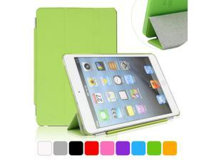 BESDATA Green Ultra Slim Folio Smart Cover Case Tri-fold Stand with Hard Back Case For iPad Mini 2 Retina Display