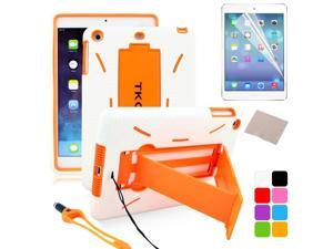 BESDATA Orange New Heavyduty Survivor Shockproof Military Duty Hybrid Hard Case Cover For iPad Mini 2