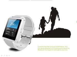 Newest Bluetooth U8 U808 Smart Wearable Watch WristWatch for iPhone 4/4S/5/5S Samsung S4/N2/3 HTC Android Smart phone