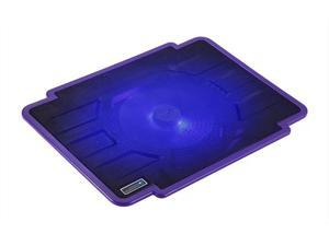 CORN laptop cooling pad 14-inch 15.6-inch notebook computer radiator LED with 140 mm Configurable Fans Purple