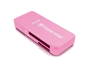 Transcend TS-RDF5K USB 3.0 Support SDHC (UHS-I), SDXC (UHS-I), microSD, microSDHC (UHS-I), and microSDXC (UHS-I) Flash Card Reader