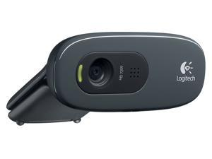 Logitech C270 Desktop or Laptop Webcam, HD 720p Widescreen for Video Calling and Recording in Bluk Package