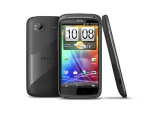 HTC Sensation Unlocked 4G Black Android GSM Smartphone - (Non-Retail Packaging) - OEM