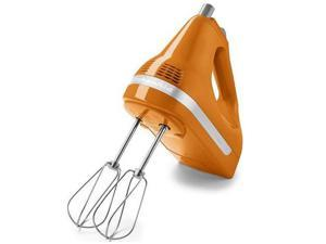 KitchenAid KHM512TG 5-Speed Ultra Power Hand Mixer Tangerine
