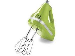 KitchenAid KHM512GA 5-Speed Ultra Power Hand Mixer Green Apple