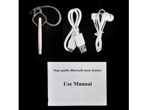 High Quality Wireless Music Bluetooth 4.0 Stereo Mini Headset Earphone Headphone New