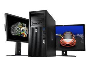 HP Z420 Convertible Mini-tower Workstation - 1 x Intel Xeon E5-1607 v2 3GHz