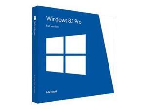 Windows 8.1 Pro - License - 1 PC - OEM - 32/64-bit, Not to China, medialess - English