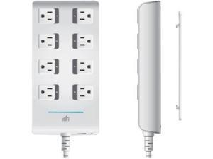 Ubiquiti Networks 8 Port mFi mPower PRO Power Strip with Wi-Fi Connectivity and Ethernet Port