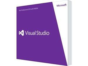 Microsoft Visual Studio 2013 Test Professional With MSDN - Complete Product - 1 User