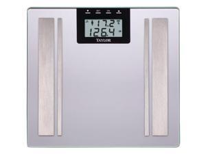TAYLOR 57364102F Body Fat Digital Scale (Silver)