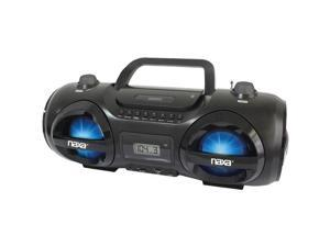 NAXA NPB-258 MP3/CD Party Boom Box & USB/SD(TM) Card Player