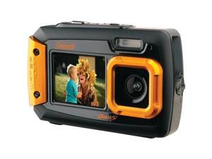 COLEMAN 2V9WP-O 20.0 Megapixel Duo2 Dual-Screen Waterproof Digital Camera (Orange)