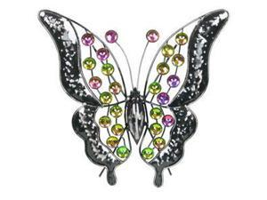 """13"""" Rainbow Bling Butterfly"""