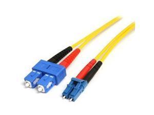 Startech.com 10m Single Mode Duplex Fiber Patch Cable Lc-sc - Fiber Optic For Network Device - 32.8