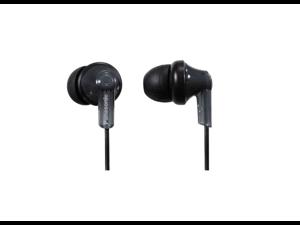 Panasonic RPHJE120K In-Ear Headphone, Black