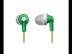 Panasonic RPHJE120G In-Ear Headphone, Green