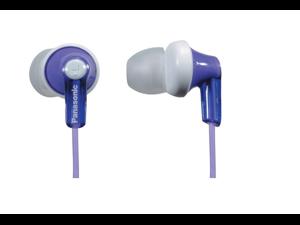 Panasonic RPHJE120V In-Ear Headphone, Violet