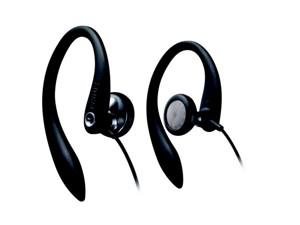 Philips Flexible Earhook Headphones SHS3200BK/37