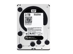Western Digital 3 TB SATA III 7200 RPM 64 MB Cache Bulk/OEM Desktop Hard Drive, Black, WD3003FZEX