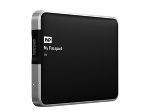 WD My Passport Air 1 TB for Mac: Portable, USB 3.0, Ultra-Slim, All Metal Hard Drive (WDBWDG0010BAL-NESN)