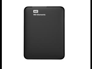 WD 1TB WD Elements Portable USB 3.0 Hard Drive Storage (WDBUZG0010BBK-NESN)