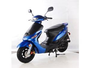 TaoTao ATM50-A1 Gas Street Legal Scooter - Blue