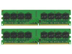 4GB (2X2GB) MEMORY 256X64 PC2-5300 667MHZ 1.8V NON ECC DDR2 240 PIN DIMM shipping from US