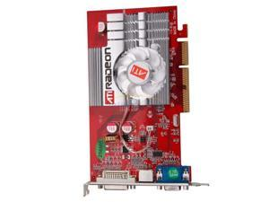 GPU ATI Radeon 9550 256 MB DDR2 AGP 8X 3D Graphics Card DVI,S-VIDEO,VGA shipping from US