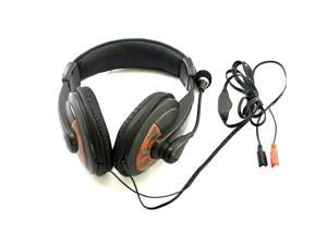 3.5mm Headphone Analog Headset Microphone for PC Laptop/Computer Black Mic