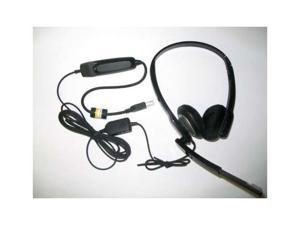 Audio 630M Binaural USB Headset (Blackwire C220-M) for MicroSoft MOC 2007 & Lync New