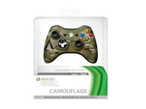 New Microsoft Xbox 360 Special Edition Camouflage Wireless Controller