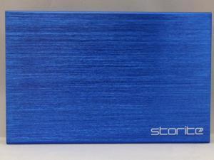 Storite 750GB FAT32 Portable External Hard Drive (USB 3.0)- Blue