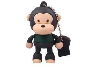 8GB Cute Monkey Shaped Cartoon Portable USB Flash Memory Drive