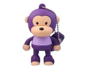 16GB Cute Monkey Shaped Cartoon Portable USB Flash Memory Drive