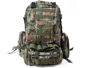 Digital Woodland Backpack Outdoor Camo Camping Climbing Hiking Bag