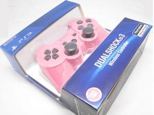 New Bluetooth Wireless Dual Shock 3 Six Axis Game Controller for Sony PS3 Pink