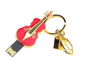 8GB/ 16GB /32GB Diamond Violin Flash Drives Mini USB 2.0 Memory Drive U Disk