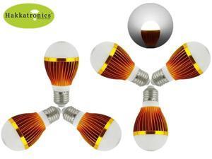 6 pieces 10W A19/ A60  6000-6500K cool white E26/E27 AC110V / 85-265V  LED bulb light lamp