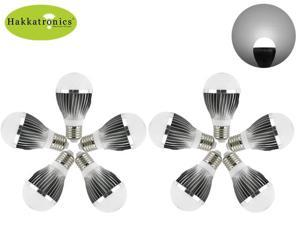 10 Pieces 5W A50 6000-6500K Cool white E26/E27 AC110V LED bulb light lamp