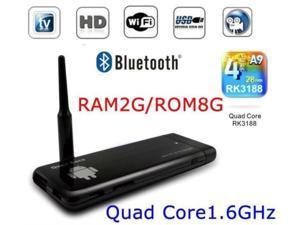 2GB/8G RK3188 Quad Core MINI PC TV Dongle Android 4.2 HDMI WIFI TV Stick CX919